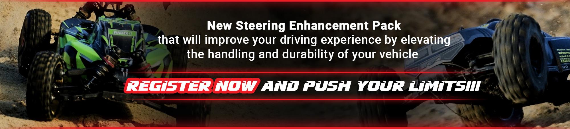 Steering Enhancement Pack