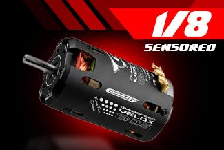 1/8 Racing Motors - Sensored