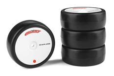 Team Corally - Attack RXC rubber tires - 1/10 EP touring - 28 shore - Carpet - 4 pcs