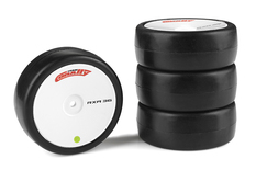 Team Corally - Attack RXA rubber tires - 1/10 EP touring - 36 shore - Asphalt - 4 pcs