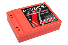 Team Corally - Sport Racing 45C - 4800 mAh - 7,4V 2S - Competition Li-Po Battery Pack - Stick SQUARE Hardcase - Dual Gold Connector 4mm