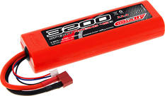 Team Corally - Sport Racing 45C - 3200 mAh - 11,1V 3S - Competition Li-Po Battery Pack - Stick Hardcase - 12AWG Wire - T-Plug Connector