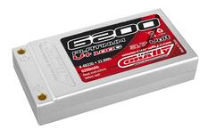 Team Corally - Platinum V+ 100C - 6200 mAh - 3,7V 1S - Competition Li-Po Battery Pack - Stick Hardcase - Gold Connector 4mm - Efra - Brca Approved