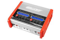 Team Corally - Charger - Eclips 2240 Duo - AC/DC - 240W Power - LCD Display - (2X) 1-6 Li-Xx - 1-15 Ni-Xx