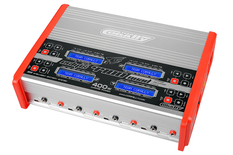 Team Corally - Charger - Eclips 4400 Quad - AC/DC - 400W Power - LCD Display - (4X) 1-6 Li-Xx - 1-15 Ni-Xx