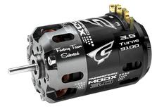 Team Corally - Dynospeed MODX 3.0 - 1/10 Sensored 2-Pole Competition Brushless Motor - Modified - 3.5 Turns - 9100 KV