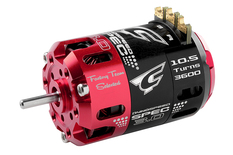 Team Corally - Dynospeed SPEC 3.0 - 1/10 Sensored 2-Pole Competition Brushless Motor - Stock - 10.5 Turns - 3600 KV
