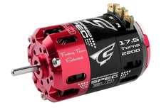 Team Corally - Dynospeed SPEC 3.0 - 1/10 Sensored 2-Pole Competition Brushless Motor - Stock - 17.5 Turns - 2200 KV