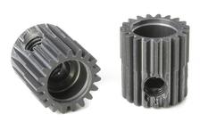 Team Corally - 64 DP Pinion - Short - Hard Anodised AL7075 - 19 Teeth - Shaft Dia. 3.17mm