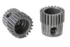 Team Corally - 64 DP Pinion - Short - Hard Anodised AL7075 - 21 Teeth - Shaft Dia. 3.17mm