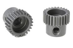 Team Corally - 64 DP Pinion - Short - Hard Anodised AL7075 - 24 Teeth - Shaft Dia. 3.17mm