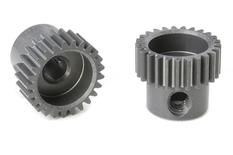 Team Corally - 64 DP Pinion - Short - Hard Anodised AL7075 - 25 Teeth - Shaft Dia. 3.17mm