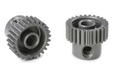 Team Corally - 64 DP Pinion - Short - Hard Anodised AL7075 - 26 Teeth - Shaft Dia. 3.17mm