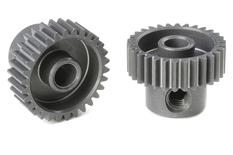 Team Corally - 64 DP Pinion - Short - Hard Anodised AL7075 - 30 Teeth - Shaft Dia. 3.17mm
