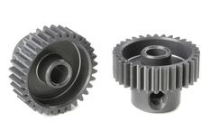 Team Corally - 64 DP Pinion - Short - Hard Anodised AL7075 - 32 Teeth - Shaft Dia. 3.17mm