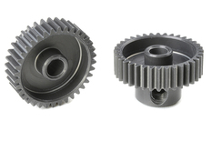 Team Corally - 64 DP Pinion - Short - Hard Anodised AL7075 - 36 Teeth - Shaft Dia. 3.17mm