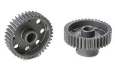 Team Corally - 64 DP Pinion - Short - Hard Anodised AL7075 - 39 Teeth - Shaft Dia. 3.17mm