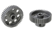 Team Corally - 64 DP Pinion - Short - Hard Anodised AL7075 - 40 Teeth - Shaft Dia. 3.17mm