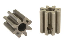 Team Corally - 32 DP Pinion - Short - Hardened Steel - 8 Teeth - Shaft Dia. 3.17mm