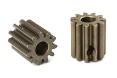Team Corally - M0.6 Pinion - Short - Hardened Steel - 11 Teeth - Shaft Dia. 3.17mm