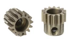 Team Corally - M0.6 Pinion - Short - Hardened Steel - 14 Teeth - Shaft Dia. 3.17mm