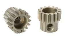 Team Corally - M0.6 Pinion - Short - Hardened Steel - 15 Teeth - Shaft Dia. 3.17mm