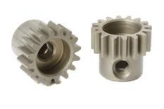 Team Corally - M0.6 Pinion - Short - Hardened Steel - 16 Teeth - Shaft Dia. 3.17mm
