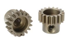 Team Corally - M0.6 Pinion - Short - Hardened Steel - 17 Teeth - Shaft Dia. 3.17mm