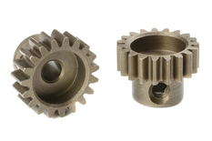 Team Corally - M0.6 Pinion - Short - Hardened Steel - 19 Teeth - Shaft Dia. 3.17mm