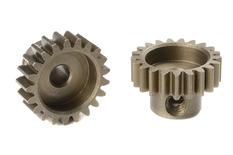 Team Corally - M0.6 Pinion - Short - Hardened Steel - 21 Teeth - Shaft Dia. 3.17mm