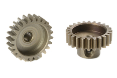 Team Corally - M0.6 Pinion - Short - Hardened Steel - 24 Teeth - Shaft Dia. 3.17mm