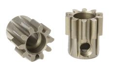 Team Corally - M1.0 Pinion - Short - Hardened Steel - 10 Teeth - Shaft Dia. 5mm