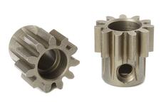 Team Corally - M1.0 Pinion - Short - Hardened Steel - 11 Teeth - Shaft Dia. 5mm