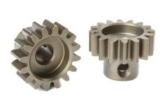 Team Corally - M1.0 Pinion - Short - Hardened Steel - 16 Teeth - Shaft Dia. 5mm