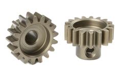 Team Corally - M1.0 Pinion - Short - Hardened Steel - 17 Teeth - Shaft Dia. 5mm