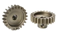 Team Corally - M1.0 Pinion - Short - Hardened Steel - 22 Teeth - Shaft Dia. 5mm